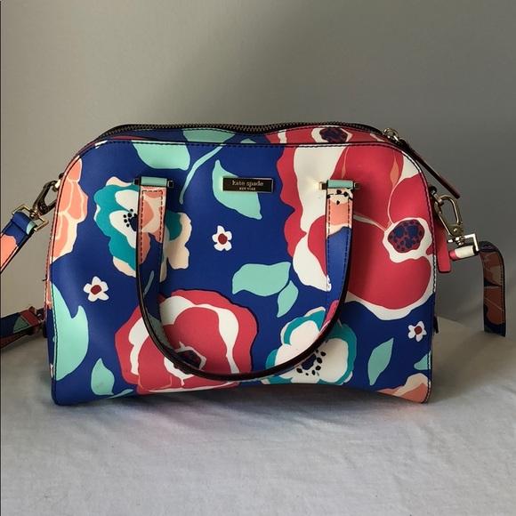 floral kate spade purse